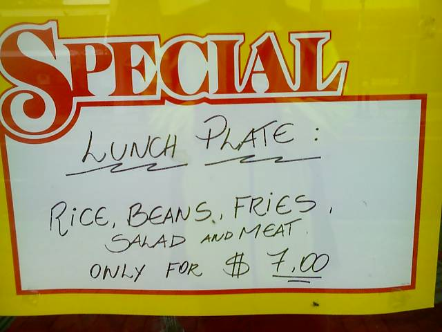 lunch-sign